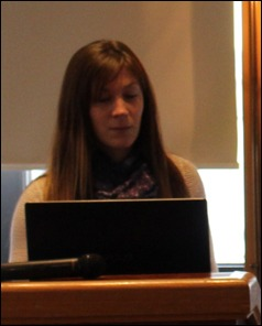 Anja Čarapić at very 1st GHRF in Belgrade