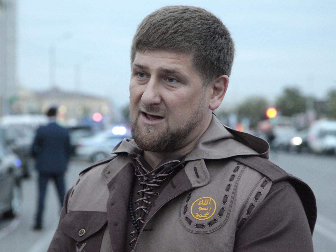 Ramzan Kadirov, lider Čečenije veliki je podržavalac Vladimira Putina / photo: Independent