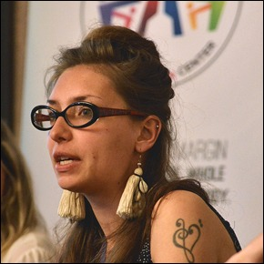 Evdokia Romanova at 2nd GHRF in Belgrade
